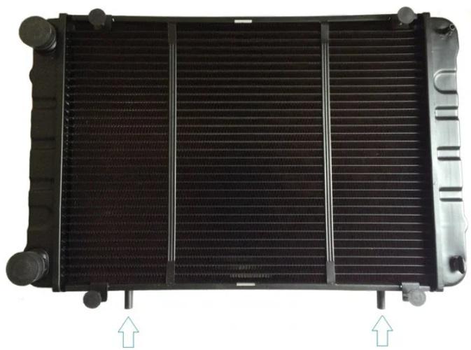 Радиатор охлаждения Газель нового образца